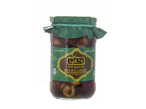 Pickled Bulb Garlic Brown