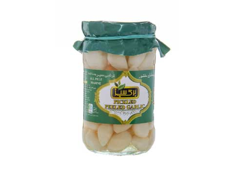 Pickled White Garlic