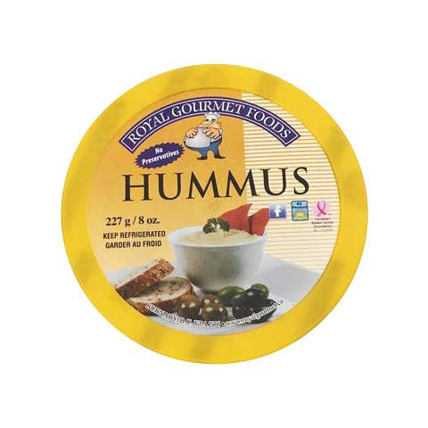Royal Gourmet Hummus with Tapenade