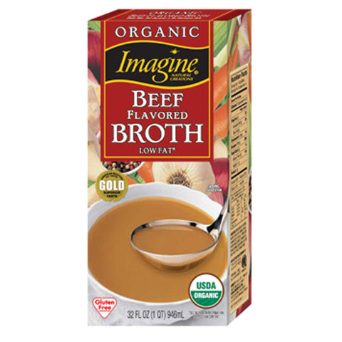 Imagine Organic Low Sodium Beef Broth - Kikis Delivery