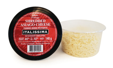 Shredded Asiago - Kikis Delivery