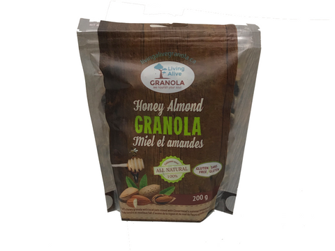 Honey Almond Granola, 200g