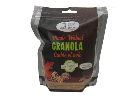 Maple Walnut Granola, 200g