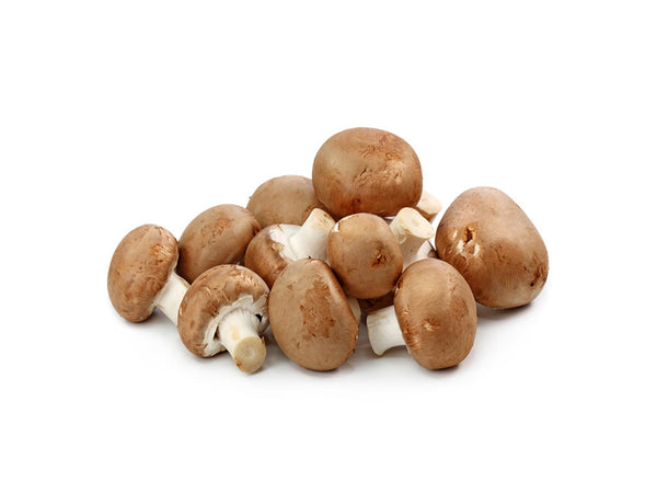 Mushrooms, Brown 1LB - Kikis Delivery