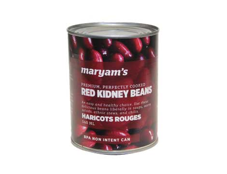 Maryam's Red Kidney Beans 540ml - Kikis Delivery