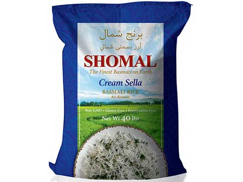 Cream Sella Basmati Rice - Kikis Delivery