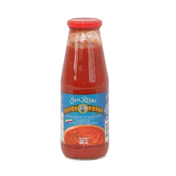 SAN REMO STRAINED TOMATOES 680ML