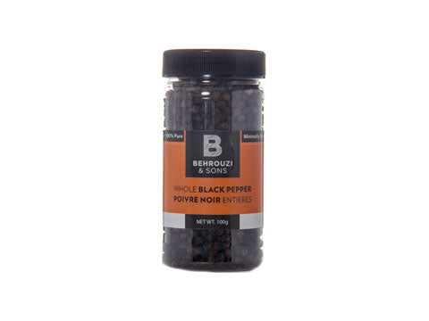 Whole Black Pepper Poivre Noir Entieres