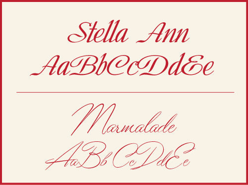 Stella Ann and Marmalade added to site!