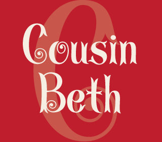 Featured Font: Cousin Beth