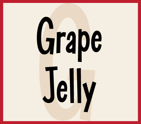 Grape Jelly font recently added to the site!