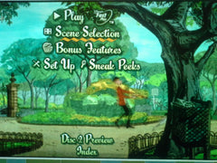 Kitti Casual on 101 Dalmatians DVD menus