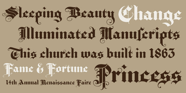Sample of Baroque Text