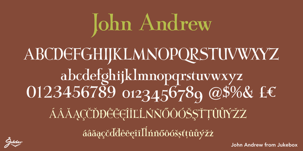 Sample of John Andrew