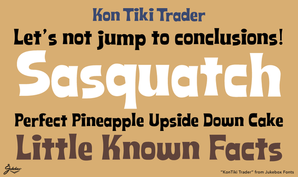 Sample of Kon Tiki Trader