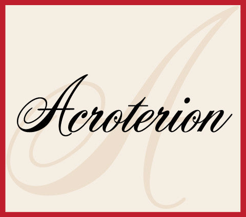 Acroterion Banner