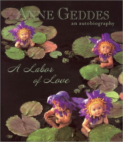 Annabelle used on the cover of Anne Geddes' book.