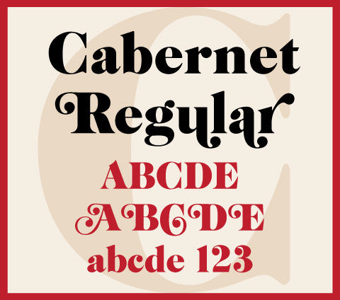 Cabernet Regular Banner