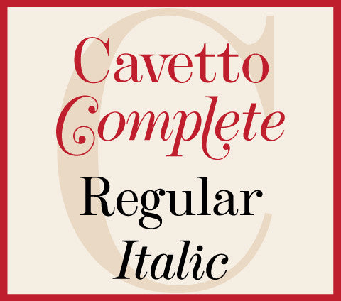 Cavetto Complete Banner