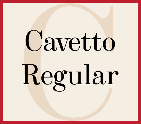 Cavetto Regular Banner