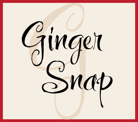 Ginger Snap Banner