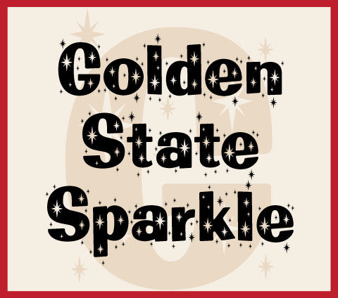 Golden State Sparkle Banner
