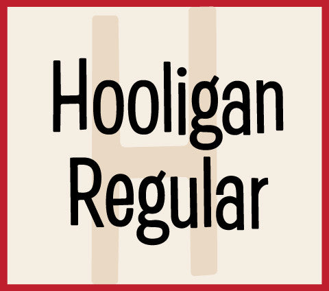 Hooligan Regular Banner