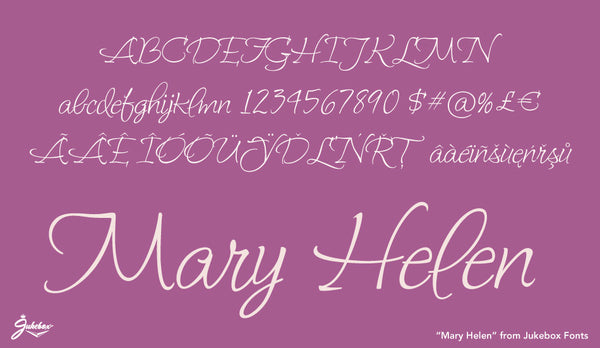 Sample of Mary Helen