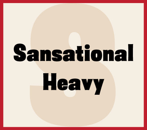 Sansational Heavy Banner
