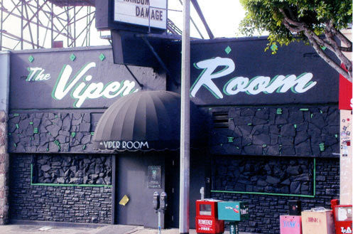 Scriptorama Tradeshow used on the sign for The Viper Room
