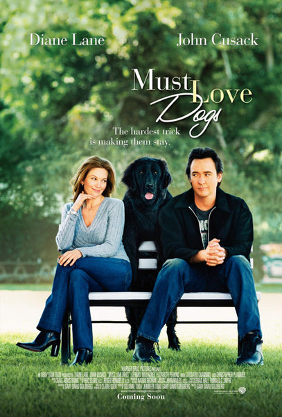Valentina Joy used on movie poster for Must Love Dogs