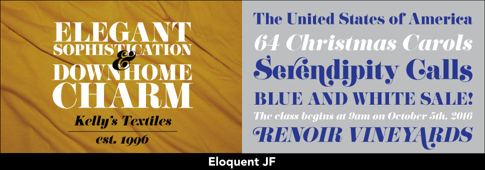 Link to Eloquent Complete Font Set