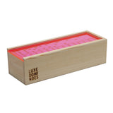 """El Woody"" Domino Set - Neon Pink"