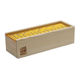 """El Woody"" Domino Set - Yellow"