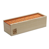 """El Woody"" Domino Set - Orange"