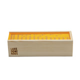 """El Woody"" Domino Set - Neon Orange"