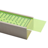 """El Woody"" Domino Set - Neon Green"