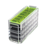 "Double 9 ""El Acere"" Domino Set - Neon Green"