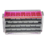 "Double 9 ""El Acere"" Domino Set - Neon Pink"