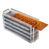 "Double 9 ""El Acere"" Domino Set - Orange"