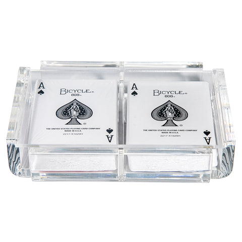 """La Pinta"" Luxe Card Deck Clear"
