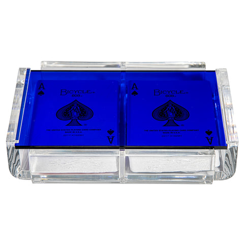 """La Pinta"" Luxe Card Deck Blue"