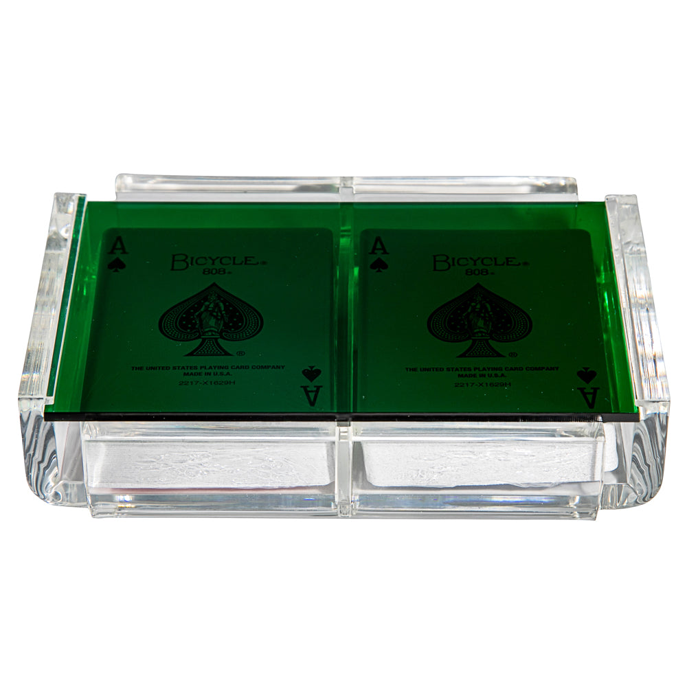 """La Pinta"" Luxe Card Deck Green"