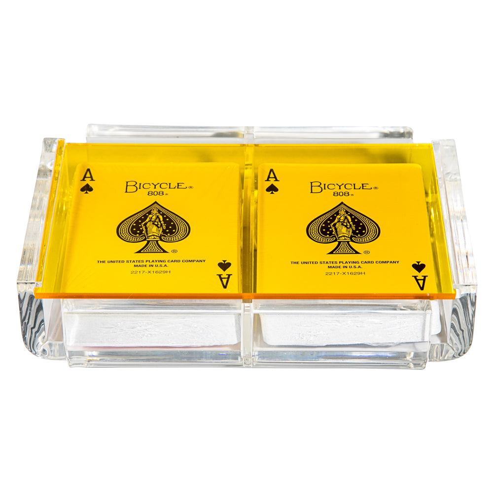 """La Pinta"" Luxe Card Deck Yellow"