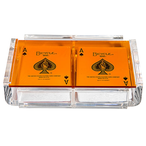 """La Pinta"" Luxe Card Deck Orange"