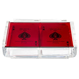 """La Pinta"" Luxe Card Deck Red"