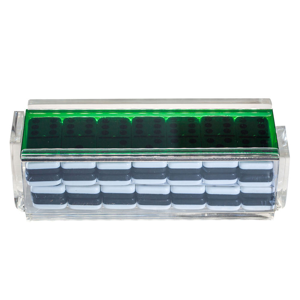 """El Tigre"" Domino Set - Green"