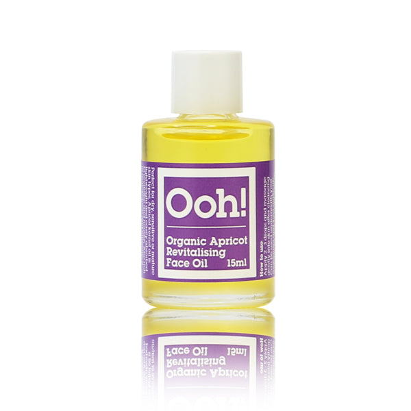 NEW! Organic Apricot Revitalising Face Oil 15ml