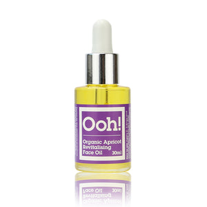 NEW! Organic Apricot Revitalising Face Oil 30ml
