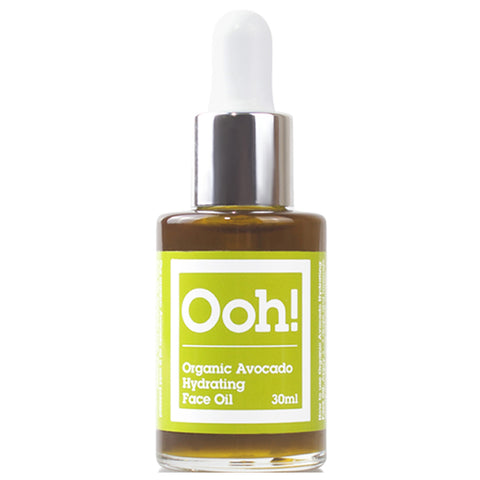 Organic Avocado Hydrating Face Oil 30ml